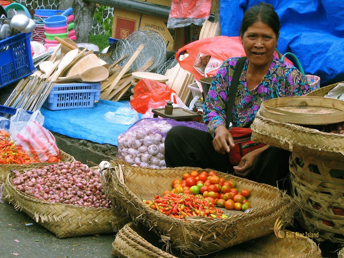 Denpasar Traditional Market Bali Places To Visit Balinese Badung