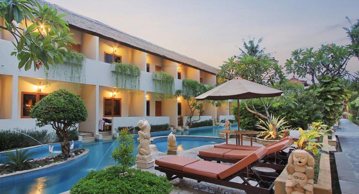 Kuta lagoon resort kuta bali hotels bali star island for The bali hotel