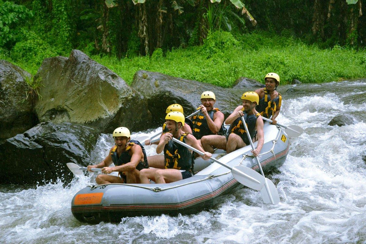 Ayung River Rapid | Bali Adventure Tours Rafting