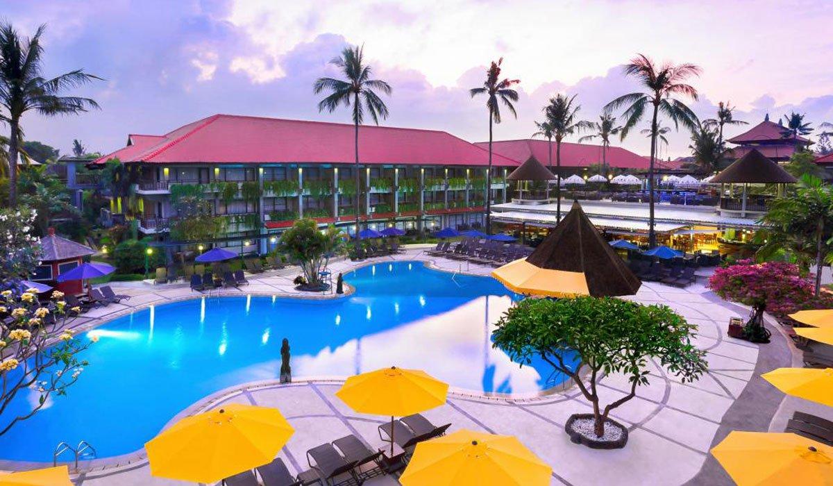 Bali dynasty resort best rates kuta hotels bali star for Bali resorts