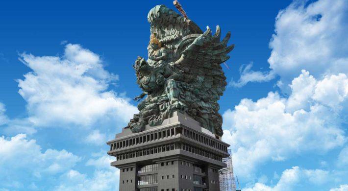 Garuda Wisnu Kencana Statue Completion Bali Star Island News